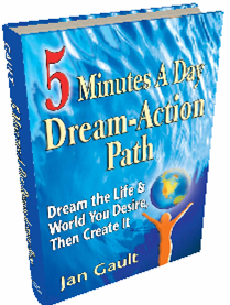 [Five Minutes A Day Dream-Action Path book cover]